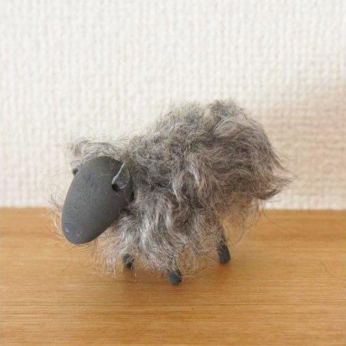 Larssons Tra/ラッセントレー 羊のオブジェ「グレー」