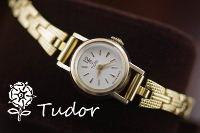 low priced a8b9a 65063 Tudor チュードル アンティークカクテルウォッチ*1096tudor - きよみのアンティーク-自社サイト
