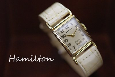 new product c07af 66890  Hamilton ハミルトン アンティークウォッチ  カクテルウォッチ レディース*1464 - きよみのアンティーク-自社サイト