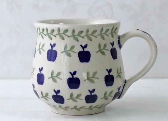 ポーリッシュポタリー(ポーランド食器)りんごマグMS | K52-JK