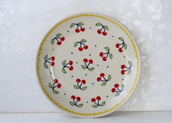 ポーリッシュポタリー(ポーランド食器)プレートM|T134-ALC83