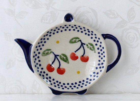 ポーリッシュポタリー(ポーランド食器)ティーバッグトレイ | P94-ALC84