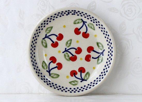 ポーリッシュポタリー(ポーランド食器)プレートXS|P154-ALC84