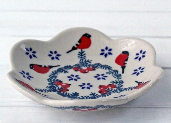 ポーリッシュポタリー(ポーランド食器)花皿S 11�|P205-GILE