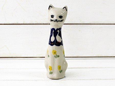 ポーリッシュポタリー (ポーランド食器) 小猫のフィギュア  |  F89-ALC56