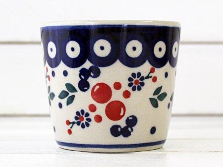 ポーリッシュポタリー (ポーランド食器) フリーカップ 120ml | M128-BL04