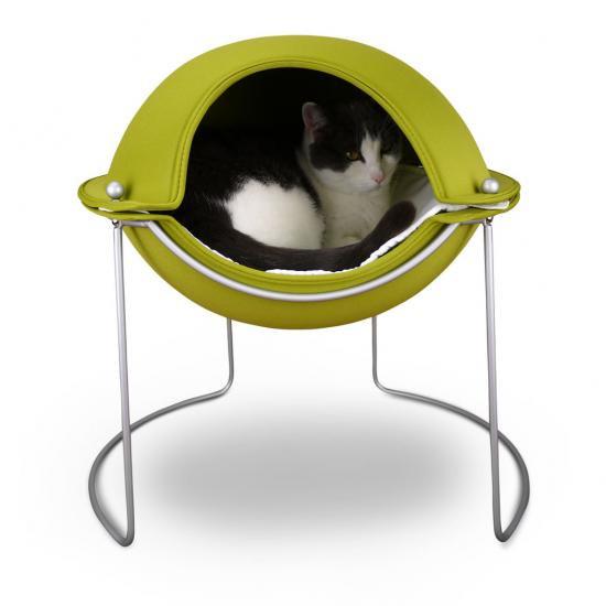 猫用ベッド【hepper】Pod Bed・hp0001_3グリーン