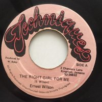 ERNEST WILSON / THE RIGHT GIRL FOR ME