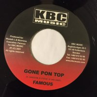 FAMOUS / GONE PON TOP - BEENIE MAN / PICTURE DIS