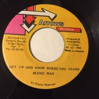 BEENIE MAN / GET UP AND KNOW WHERE YOU STAND