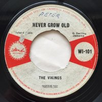 THE VIKINGS / NEVER GROW OLD - IRENE