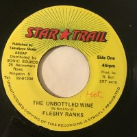 FLESHY RANKS / THE UNBOTTLED WINE