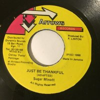SUGAR MINOTT / JUST BE THANKFUL