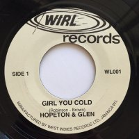 HOPETON & GLEN / GIRL YOU COLD - PROGRESSIONS / ARE YOU READY
