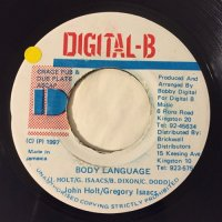 JOHN HOLT & GREGORY ISAACS / BODY LANGUAGE