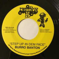 BURRO BANTON / STEP UP IN DEM FACE