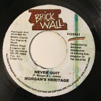 MORGAN HERITAGE / NEVER QUIT