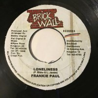 FRANKIE PAUL / LONELINESS