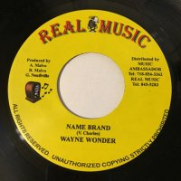WAYNE WONDER / NAME BRAND