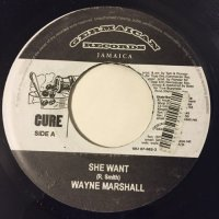 WAYNE MARSHALL / SHE WANT