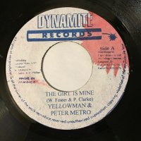 YELLOW MAN & PETER METRO / THE GIRL IS MINE
