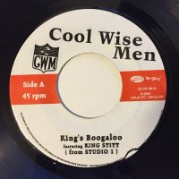 COOL WISE MEN FEAT. KING STITT / KING'S BOOGALOO