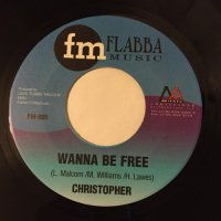 CHRISTOPHER / WANNA BE FREE - DEAN FRASER / DEAN IN HELICOPTER