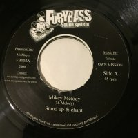 MIKEY MELODY / STAND UP & CHANT - COLONEL MAXWELL / HEART ATTACK