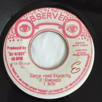 JR. DELGADO , I ROY / CAMP ROAD SKANKING - I ROY / POINT BLANK