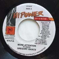GREGORY ISAACS / MORE ATTENTION