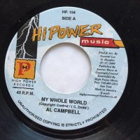 AL CAMPBELL / MY WHOLE WORLD