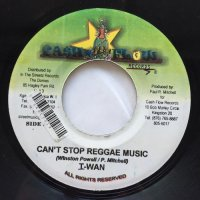 I-WAN / CAN'T STOP REGGAE MUSIC