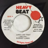 KASHIEF LINDO / LOVE LIKE THAT