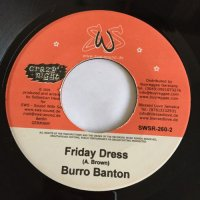 BURRO BANTON / FRIDAY DRESS - JAH BURGER / REGGAE TRIBUTE TO JOHN COLTRANE