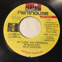BUJU BANTON / UP CLOSE AND PERSONAL