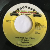 CAPLETON / FROM WAH DAY