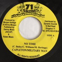 CAPLETON, MILITARY MAN / NO TIME