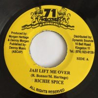 RICHIE SPICE / JAH LIFT ME OVER - KOOLANT / KEEP THE FAITH