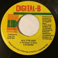 LUCIANO / ALL I'VE GOT - JAMELODY / BE PREPAIRED