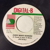 JAH MALI / EVERY MAN'S BURDEN