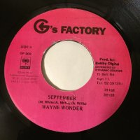WAYNE WONDER / SEPTEMBER