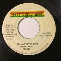 SIZZLA / DEM A TRY A TING