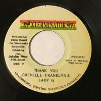 CHEVELLE FRANKLYN & LADY G / THANK YOU