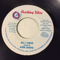 KIRK DAVIS / ALL I HAVE