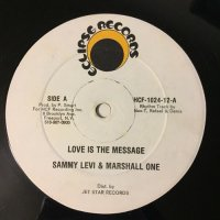 SAMMY LEVI & MARSHALL ONE / LOVE IS THE MESSAGE