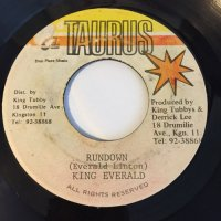 KING EVERALD / RUNDOWN