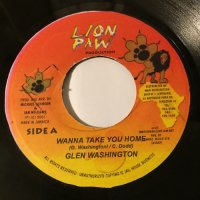 GLEN WASHINGTON / WANNA TAKE YOU HOME