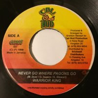 WARRIOR KING / NEVER GO WHERE PAGONS GO
