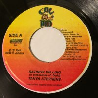 TANYA STEPHENS / RATINGS FALLING - BOBBY CRYSTAL / HEY DELILAH