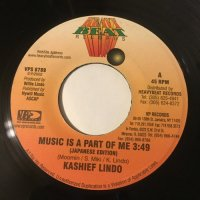 KASHIEF LINDO / MUSIC IS A PART OF ME (日本語バージョン)